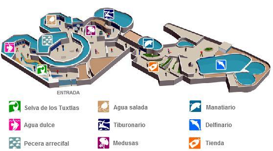 Plano Acuario Veracruz