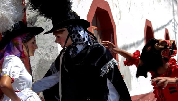 Video: Encuentro de huehues Puebla - Carnaval en Xonaca