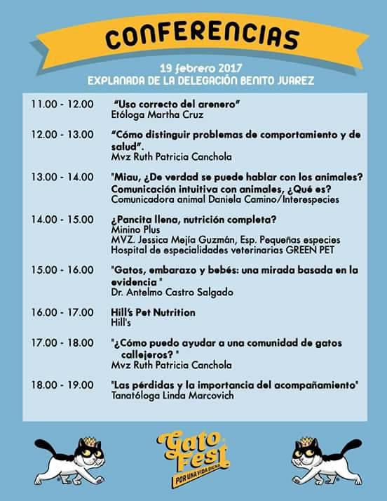 Conferencias Gato Fest 2017