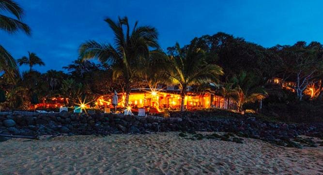 Restaurante del hotel Mar de Jade, de Laura del Valle.